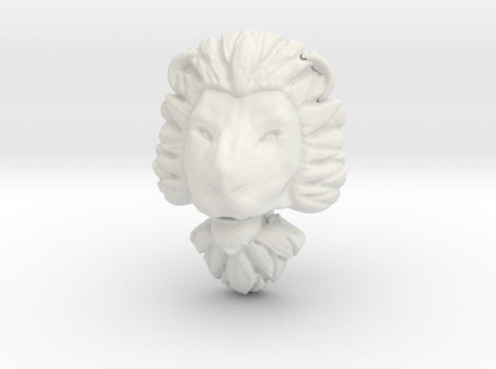 Pendant for ring2(lion) 3d printed