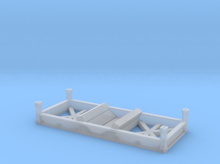 Coil Steel Cradle 3d printed