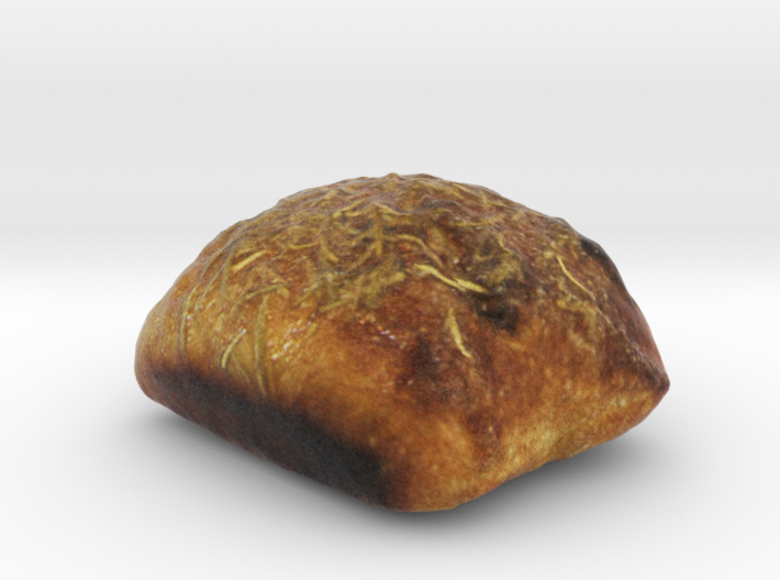 The Rosemary Bread 3d printed
