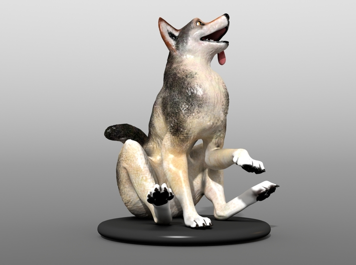 Silly Wolf 3d printed Example 4