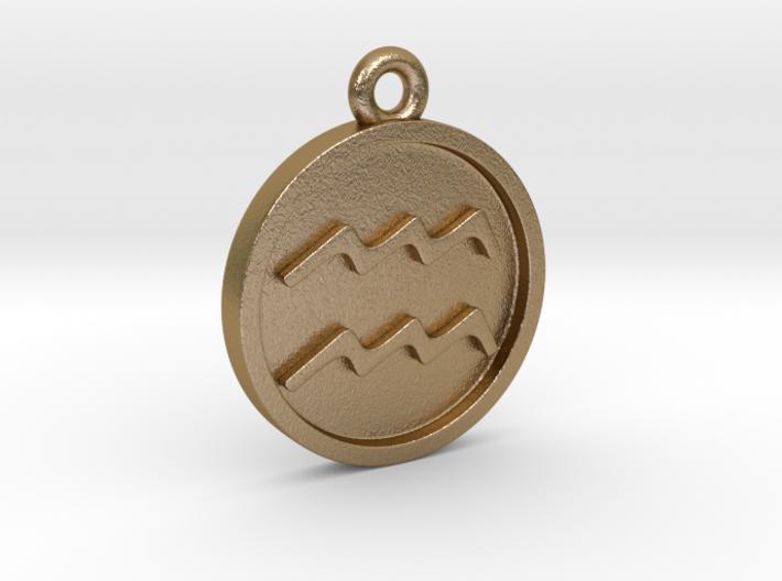 Aquarius/Wassermann Pendant 3d printed