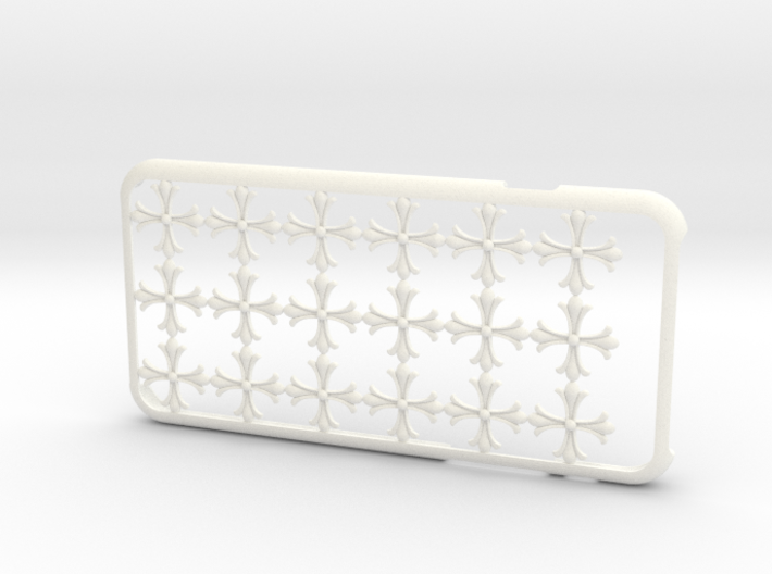 Cross iPhone6 case for 4.7inch 3d printed