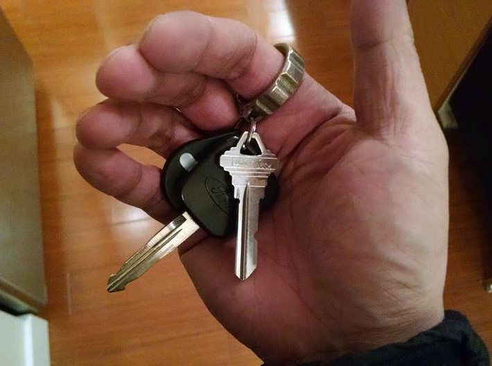 Q-Clip Key Dangler - Right Handed Carry 3d printed