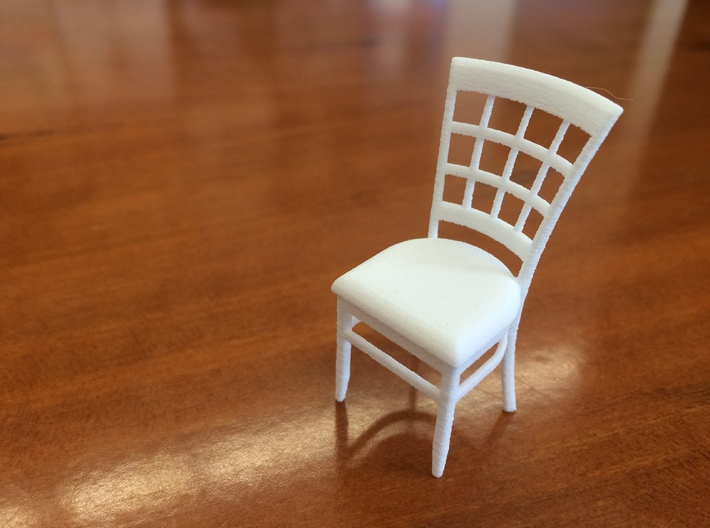 1:24 Window Back Chair 3d printed