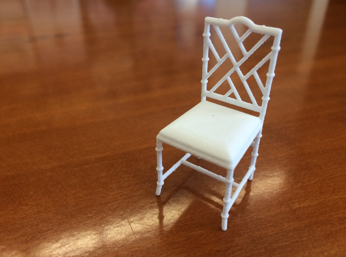 1:24 Chinese Chippendale Chair 3d printed