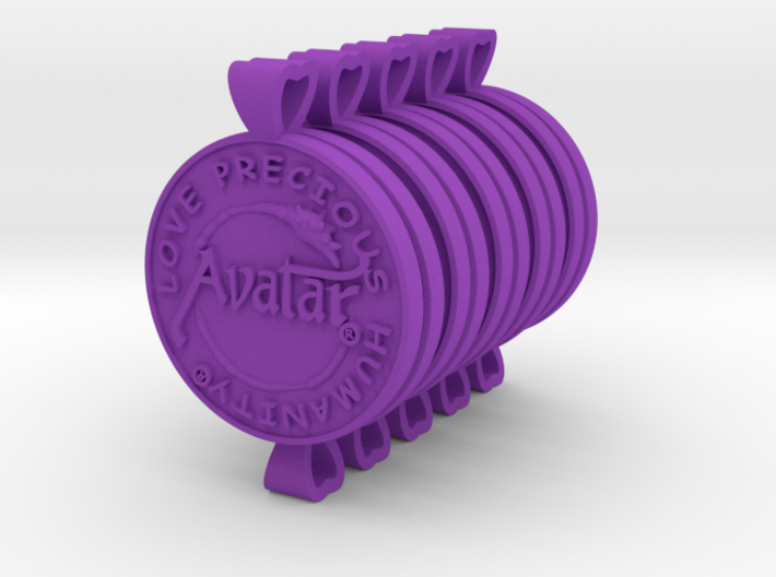Plastic (10Pack) Avatar® Keychain / Pendant 3d printed Only on sale from february 12th till february 15th 2015