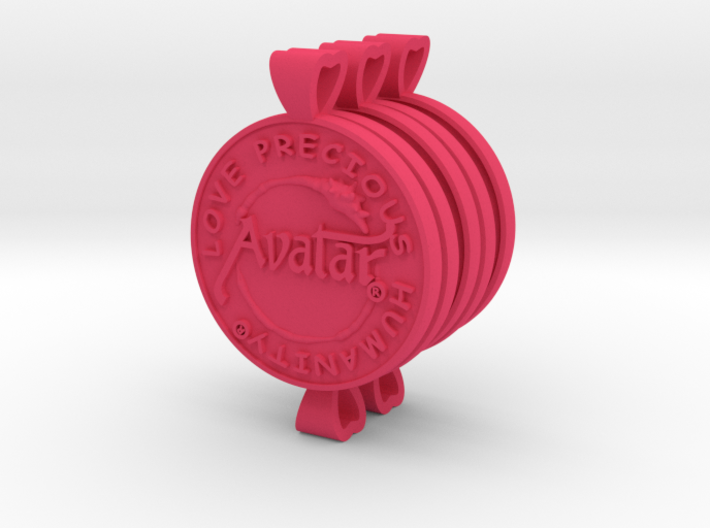 Plastic (5Pack) Avatar® Keychain/Pendant 3d printed