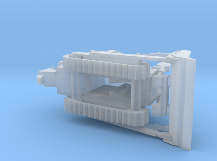 Armored Dozer 1/200 Scale 3d printed