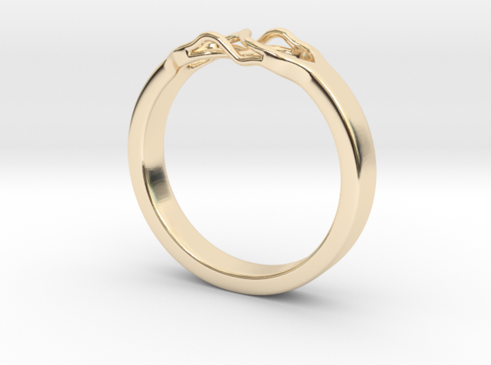 Roots Ring (19mm / 0,75inch inner diameter) 3d printed