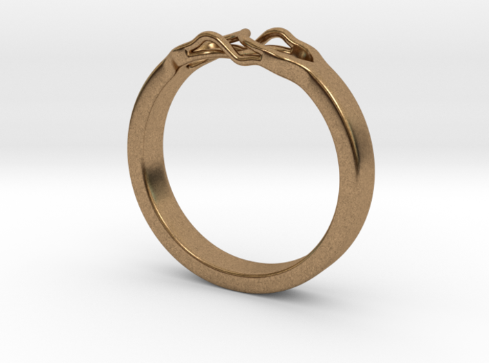 Roots Ring (27mm / 1,07inch inner diameter) 3d printed