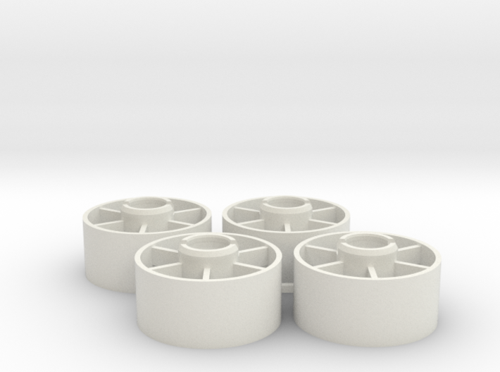 Mini-z Front Wheels 19 5 +2 3d printed