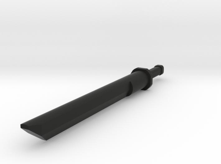 Katana Sword Gauge 6g 3d printed