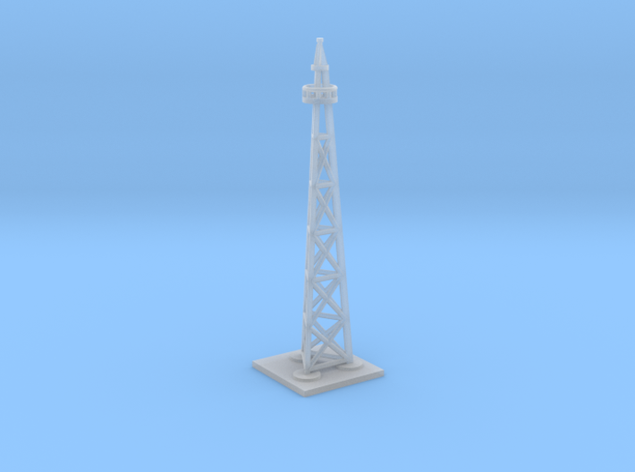Polar Expedition Airship Mast 1/700th scale 3d printed