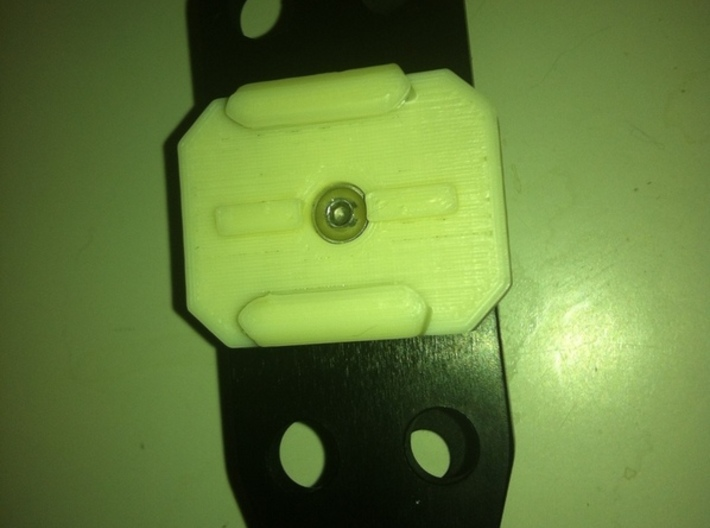 GoPro Mount with M5 Screw Hole 3d printed
