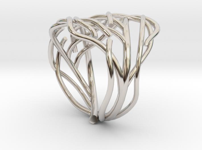 Tree ring 3d printed
