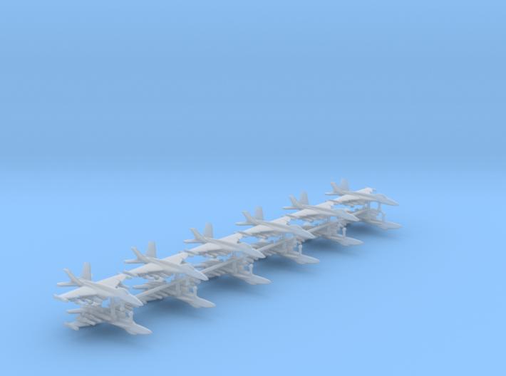 1/350 F-18E Super Hornet (Anti-Ship Loadout) (x12) 3d printed