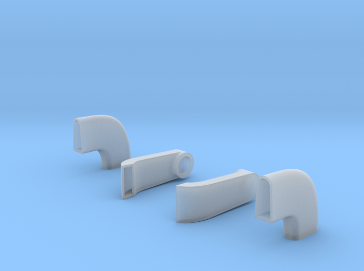 Ferrari 126C2 Brake Ducts, 1/20 scale 3d printed