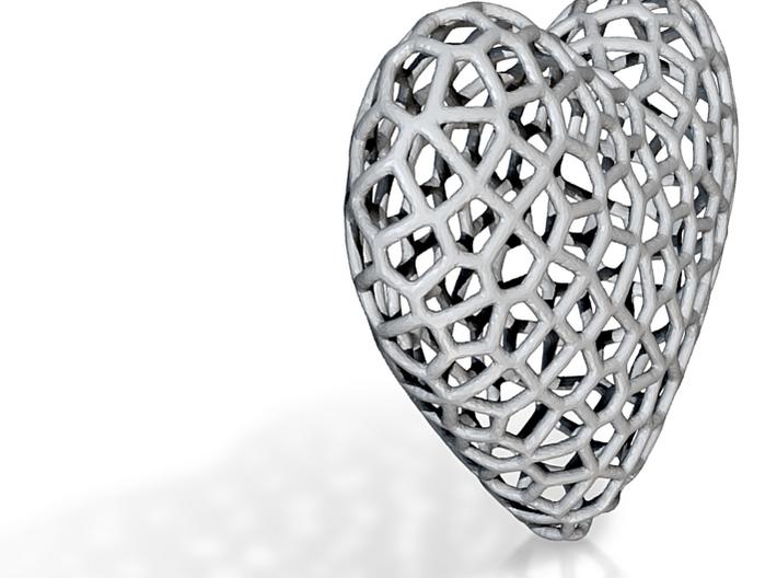 HeartV3 (repaired) 3d printed