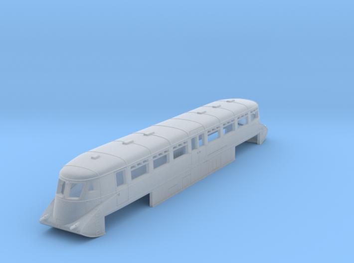 GWR Railcar #1 - Z - 1:220 3d printed
