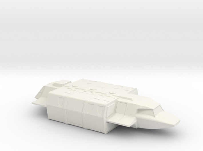 Shuttle (Squad) in Flight (V, The Visitors) 3d printed Version 2 Model