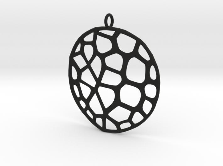 Exteriority Pendant 3d printed