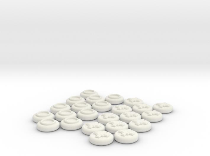 Checkers Set 3d printed