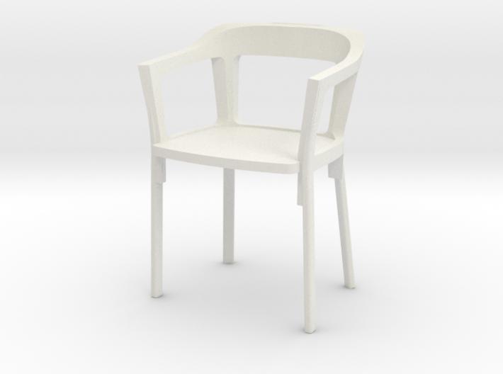 1:24 Steelwood Chair 3d printed