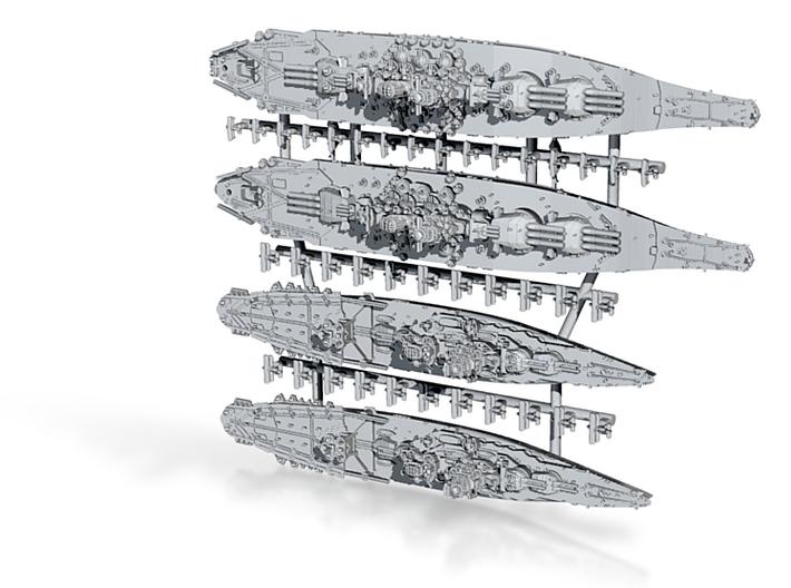 48JN05L WWII IJN Late-war BB Yamato & BBCV Ise 3d printed