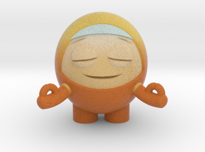 Orange Test 3d printed