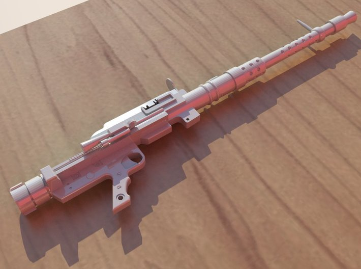 MG-131 1/10 Scale 3d printed Render of the MachineGun