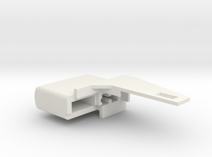 Floppy Knob compatible to Amiga 1200 3d printed