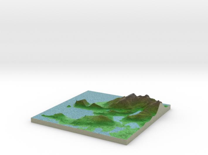Terrafab generated model Mon Dec 29 2014 18:10:16 3d printed