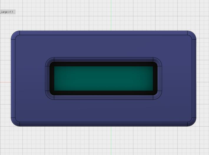 "DNA ""Big Screen"" Cradle 3d printed Screen Visible Area Positioning"