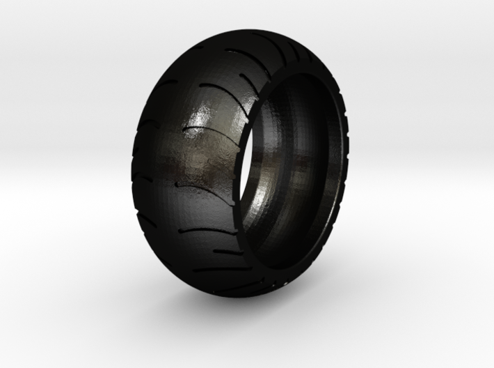 Chopper Rear Tire Ring Size 10 3d printed