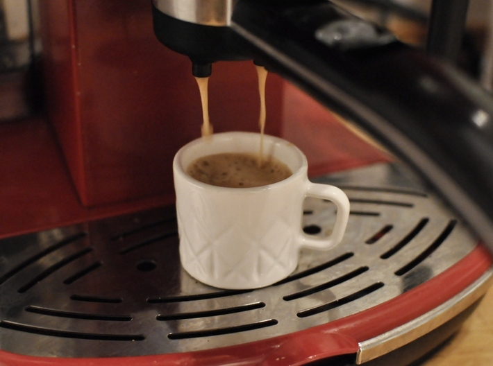 Coffee straight up 3d printed