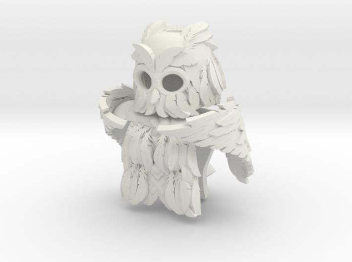 Minifigure Winged (Owl) Armor Set 3d printed