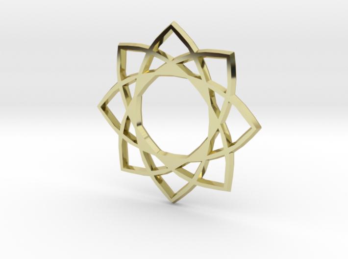 Star Pentagram 3d printed
