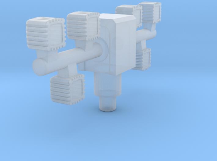 LED-LIMA 3d printed