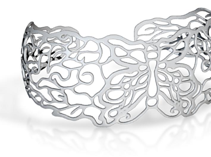 Butterflybracelet2 3d printed