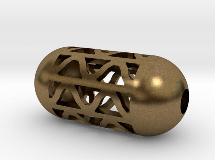 DRAW pendant - tubular waves type 4 3d printed