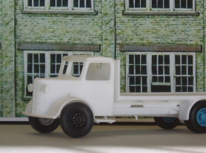 1:43 Bedford  Flatbed Body 3d printed Fitted to Bedford OL