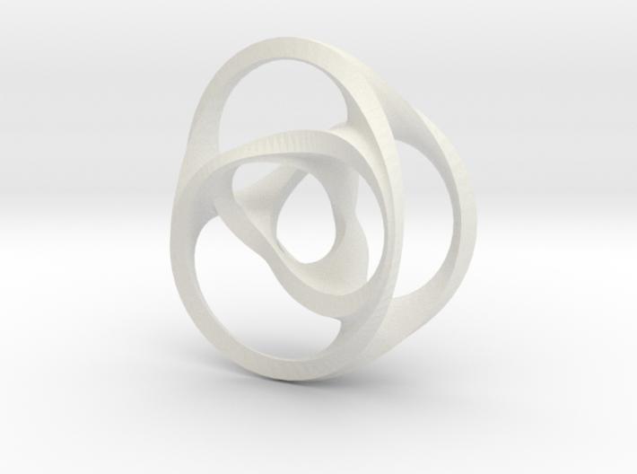 Scherk-Collins surface 3d printed