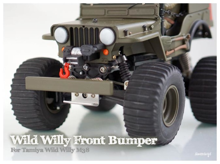 Simensays Wild Willy Bumper (filled) 3d printed