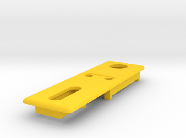 DNA25 or DNA40 Small Screen Mounting Plate 3d printed