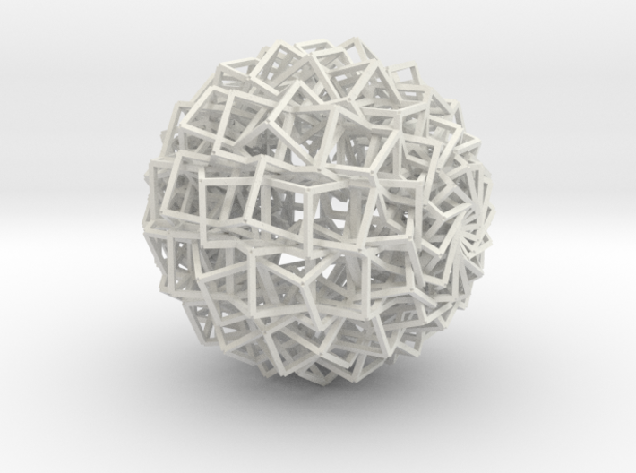 Cube Ball Ornament 1.1 3d printed