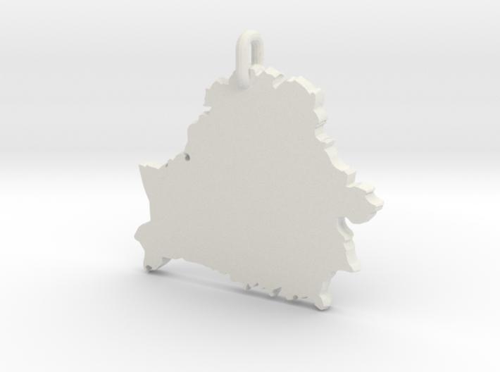 Кулон «Беларусь» 3d printed