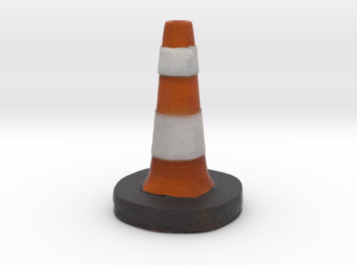 Traffic Cone Meme 3d printed
