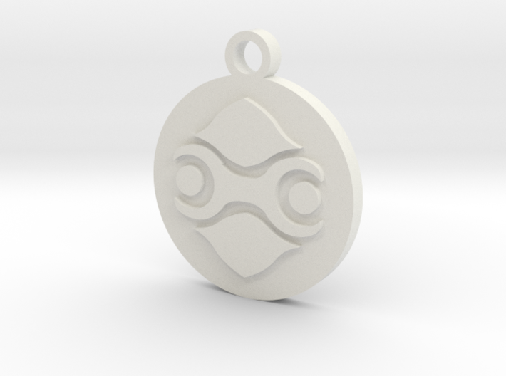 Legend of Zelda Gerudo Symbol Pendant Necklace 3d printed