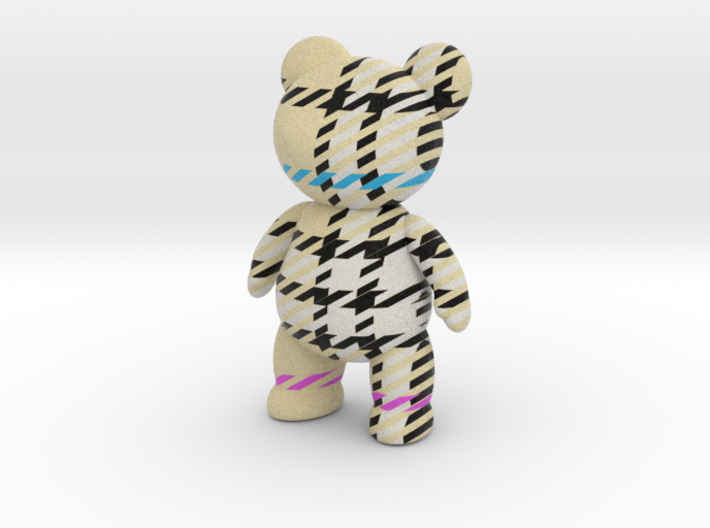 Teddy Bear - Check 3d printed