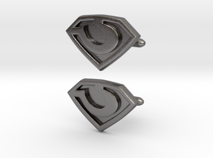 General Zod cufflinks 3d printed